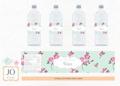 water labels party - Buscar con Google