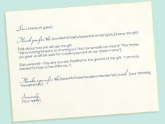 Etiquette: Thanks a Bunch! How to Write the Best Thank You Notes Ever.  -Park Slope Press-  #wedding #etiquette