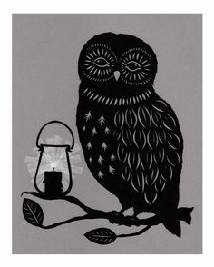 'Night Owl' by Angie Pickman
