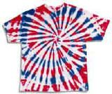 Tye dye...4th of July! I think we'll do this with kids.