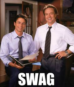 I don't do Gossip Girl.  Give me these guys any day. The West Wing.