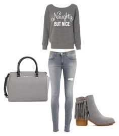 Bez naslova #2 by irnyhaly on Polyvore featuring polyvore, fashion, style, Dondup and MICHAEL Michael Kors