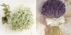 Lavender and baby's breath for country chic weddings in puglia!