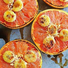 Broiled Grapefruit -gotta try this sometime