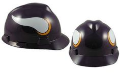 MSA NFL Ratchet Suspension Hardhats  Minnesota Vikings Hard Hats * Check out the image by visiting the link.