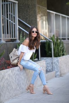 How to Wear the Denim X Hi-Rise Jegging with Blank Itinerary