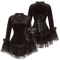 """Mi piace"": 293, commenti: 5 - The Gothic Shop ♥❤ (@thegothicshop) su Instagram: ""Melody Blouse. ♥ ❤ Website link in bio ❤ ♥"""