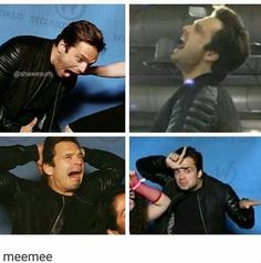 He's beauty, he's grace, he punched Tony in the face