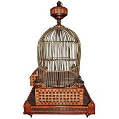 19th Century Bird Cage