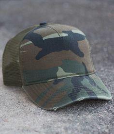 Olive & Pique Camo Trucker Hat - Women's Hats | Buckle