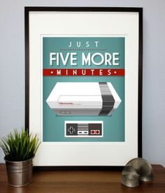 five more minutes..