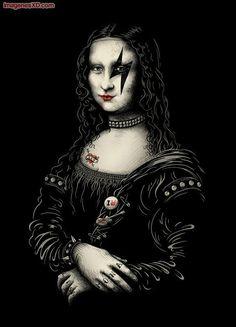Mona Lisa Kiss