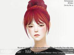메이 아이템 - May_TS4_Hair166F