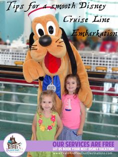 See what our family did to ensure a smooth embarkation on Disney Cruise Line!