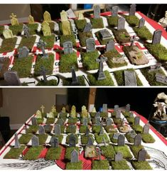 Tabletop Rpg, Tabletop Games, Dnd Mini, Game Terrain, D&d Dungeons And Dragons, D Craft, Miniature Crafts, Craft Night, Game Pieces