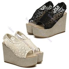 Lace style Shoes is so beautiful, isn't it?