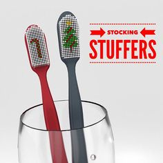 Out of ideas for stocking-stuffers this Christmas? Try giving your children some mouth-healthy tools to brighten their smile this holiday season! Floss toothbrushes and gum sweetened with Xylitol are all great stocking stuffers that will keep your childs grin healthy. - Dentistry Just for Kids and Orthodontics | #TerreHaute | #IN | http://ift.tt/1TLIkpu
