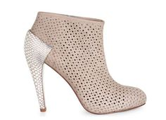 BCBG Max Azria Bernadette Bootie Max Azria, Summer Boots, Laser Cut Acrylic, Leather Booties, Beautiful Shoes, Me Too Shoes, Heeled Mules, Fashion Shoes, Footwear
