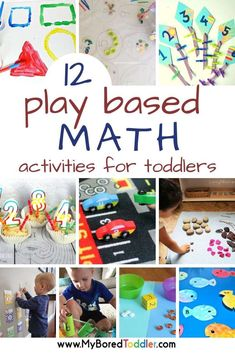 Based Math Activities for Toddlers 12 Play based math activities for toddlers - My Bored Toddler - shapes, sorting, counting and more. 12 Play based math activities for toddlers - My Bored Toddler - shapes, sorting, counting and more. Math Activities For Toddlers, Numeracy Activities, Counting Activities, Preschool Learning, Infant Activities, Measurement Activities, Teaching Kindergarten, Activities For One Year Olds, Maths Investigations