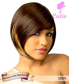 New born free cutie human hair wig cth71 on sale