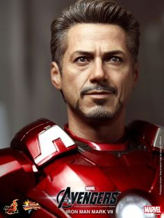 Hot Toys does it again, another incredible likeness!  Hot Toys' 'Avengers' Line Gets Its Iron Man Mark VII - Tony Stark, Robert Downey Jr