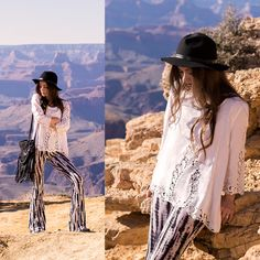 Shelly Stuckman - Charlotte Russe Blouse, Charlotte Russe Tie Dye, Charlotte Russe Fringe Purse, Charlotte Russe Black, Charlotte Russe Necklace, Charlotte Russe Western Booties - Grand Canyon