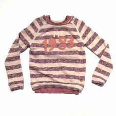 Kids Boutique Clothing - Girls Crew Neck Sweater w/ Pink Stripe Tank