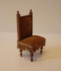 antiker stuhl gr nderzeit um 1900 puppenstube puppenhaus puppenm bel ebay gr nderzeit. Black Bedroom Furniture Sets. Home Design Ideas