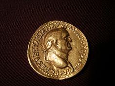 https://flic.kr/p/bpHuum   Sesterz Sestertius   Sesterz des Kaisers Vespasian - Vorderseite --- Sestertius of Vespasian  Mehr dazu: hiltibold.blogspot.com/2012/06/was-kostet-die-welt.html