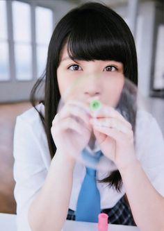 Owada Nana (大和田南那) ; Naanya (なーにゃ) - #AKB48 #TeamB #jpop #idol #beautiful #love