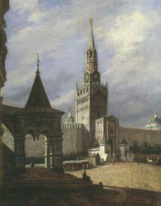 Stepan Shuhvostov (1821-1908). View of Red Square.