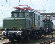 elektrische Lokomotive E93 07--- DB -- Germany