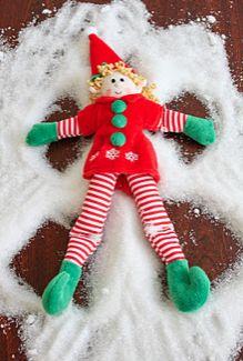 Elf Magic Snow Angel!