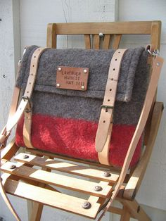 Authentic Swiss Army Blanket Bag Travel bag unique by Ecolution