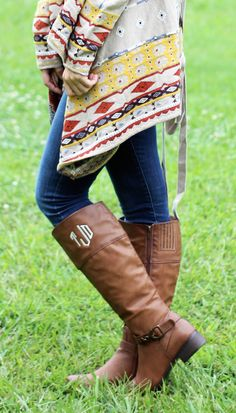 Memento - Personalized Monogrammed Gifts - Monogrammed Riding Boots  (http://www.shopmemento.com/monogrammed-riding-boots/)