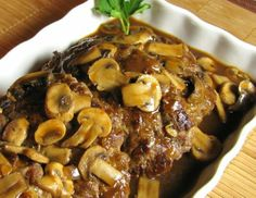 For the Love of Cooking » Salisbury Steak with Mushroom Gravy