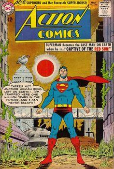 Episode Part II: Superman Comic Book Cover Dated May Action Comics Superman Action Comics, Superman Comic Books, Old Comic Books, Vintage Comic Books, Dc Comics Art, Comic Book Artists, Comic Book Covers, Vintage Comics, Comic Superheroes