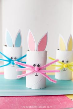 easter crafts for toddlers / easter crafts ; easter crafts for kids ; easter crafts for toddlers ; easter crafts for adults ; easter crafts for kids christian ; easter crafts for kids toddlers ; easter crafts to sell Easter Arts And Crafts, Easter Crafts For Toddlers, Spring Crafts For Kids, Bunny Crafts, Toddler Crafts, Preschool Crafts, Unicorn Crafts, Easter Ideas For Kids, Summer Crafts