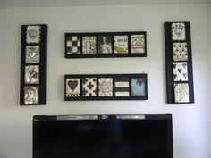 Interesting way to display my tiles.