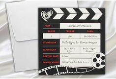 Faire-part mariage HUMORISTIQUE #Fairepart de #mariage cinéma http://www.tour-babel.com/faire-part-mariage/carte-de-mariage-d-humour.html