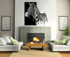 Wall Sticker Decals Art Mural Decoration Nature Animals Zebra YE0476 | eBay