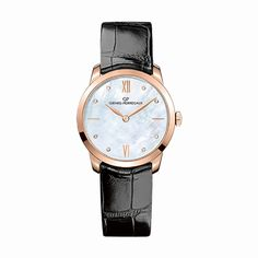 #GirardPerregaux 1966 Lady Rose Gold & Diamonds #Watch