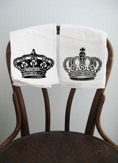 Flour Sack Towel  Royal Kitchen, $18.00