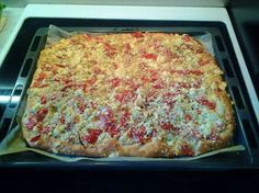 Greek Recipes, Pie Dish, Lasagna, Food And Drink, Appetizers, Pizza, Yummy Food, Dishes, Baking