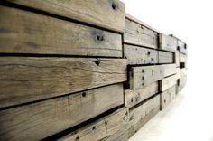 Salvaged wood Drawers