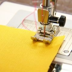 Several tips to help with your basic sewing machine stitches (including the back stitch).