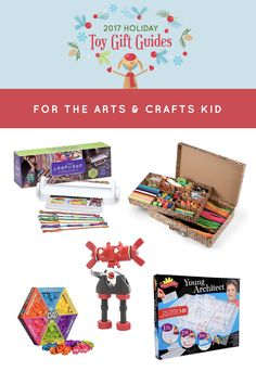 Best Arts & Crafts Toys for 2017 - Children are full of creative ideas. And these gifts - They're designed to make those ideas shine bright. Tools, instructions, unique projects, and all kinds of supplies... Nourish your young artist's creativity with the best arts and crafts kits around!