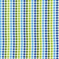 Anne Kelle remix dotty lines in blue