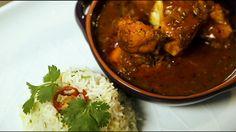 Fish in a Bengali-style sauce (macher jhol)