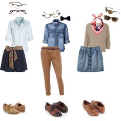 Outfits with Oxford shoes